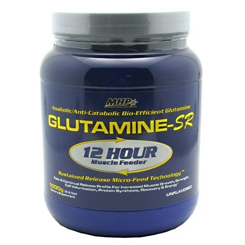 MHP Glutamine-SR - Unflavored - 32 oz (2.2 lb) 1000 g