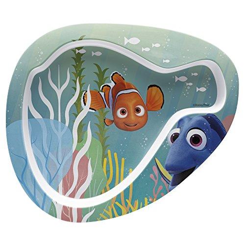 (Zak Designs Finding Dory 8-inch Plastic Plate for Kids, Nemo)