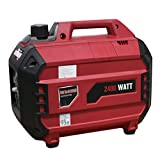Goplus 2400 Watt Gasoline Portable Generator Inverter Generator Gas Powered 4 Stroke 113cc Single Cylinder W/ Air Cooling System EPA Approved