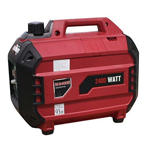 Goplus 2400 Watt Gasoline Portable Generator Inverter Generator Gas Powered 4 Stroke 113cc Single Cylinder W/Air Cooling System EPA Approved
