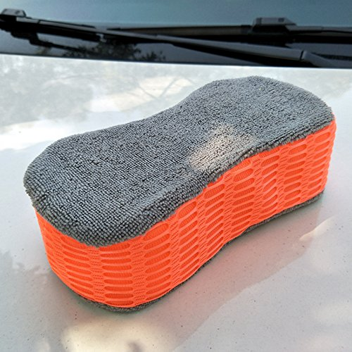Pouybie Car Wash Sponge Super Absorbent Car Care Cleaning Sponges Extra Large Size for Auto Home Horse Bathroom Kitchen
