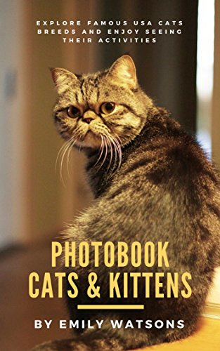 - Photobook Cats: Cats Image of Persian, Siamese, Maine Coon, Ragdoll, Manx of Cute, Funny, Drowsy and Running