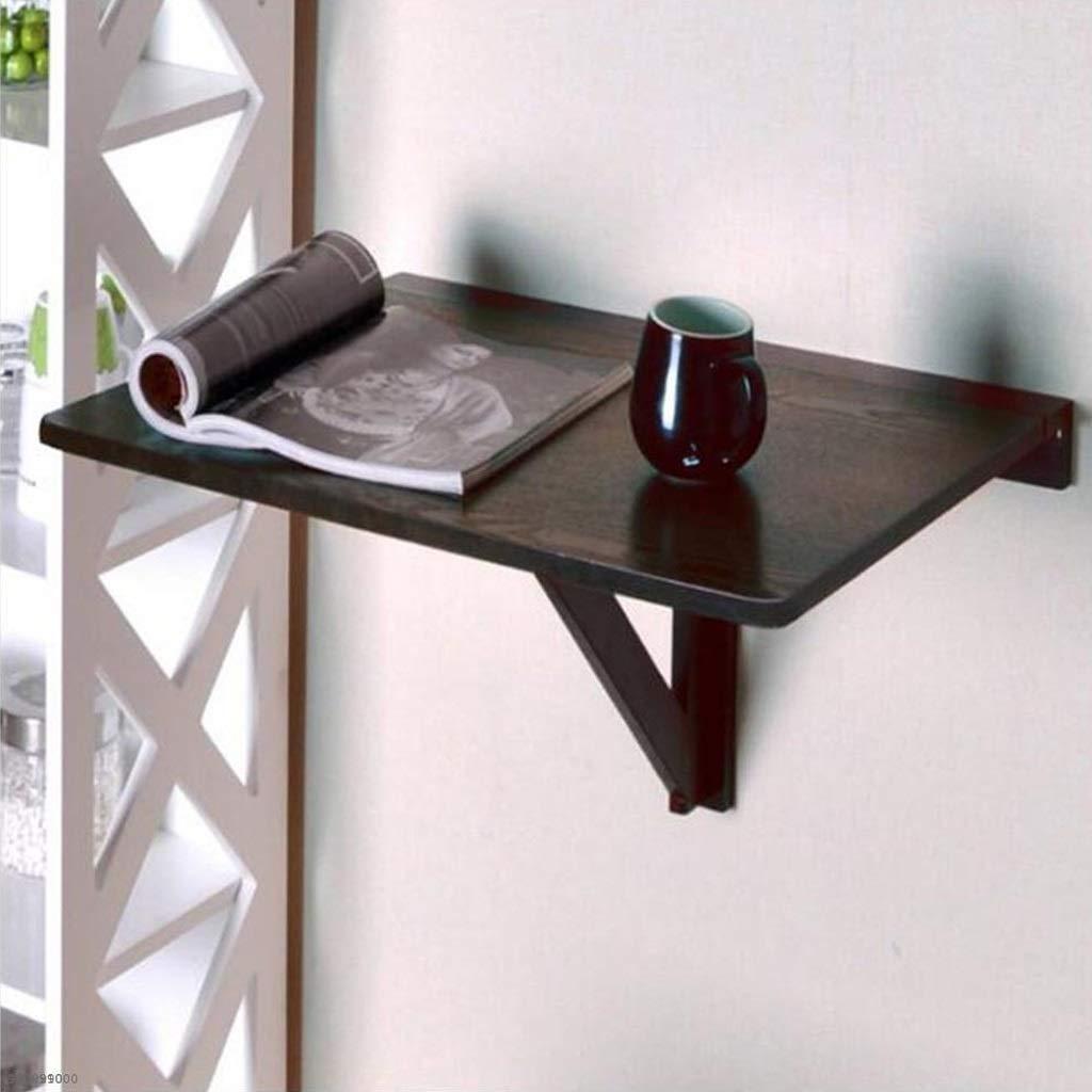 HUA BEI 折りたたみテーブル - ソリッドウッド折りたたみ壁掛けテーブルラップトップテーブルリーフテーブル - シンプルなホームモダンアパートメントテーブル子供の研究テーブル | (色 : B)  B B07K7DKDXK