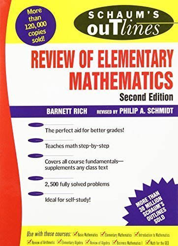 Schaum's Outline of Review of Elementary Mathematics by Barnett Rich (1997-03-01)