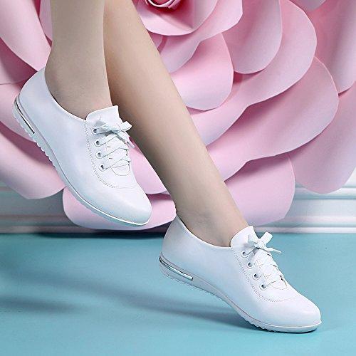 Confortable De Chaussures Les Confort Chaussures Antipatinage Sport KHSKX white Semelle Souple Femmes Souliers Blanches Chaussures À Chaussures vfqnR