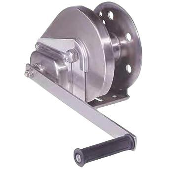 Cabrestante manual de acero inoxidable para elevación y ...