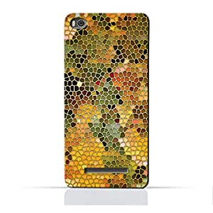 AMC Design Xiaomi Mi 4C TPU Silicone Protective Case with Stained Art Glass Pattern