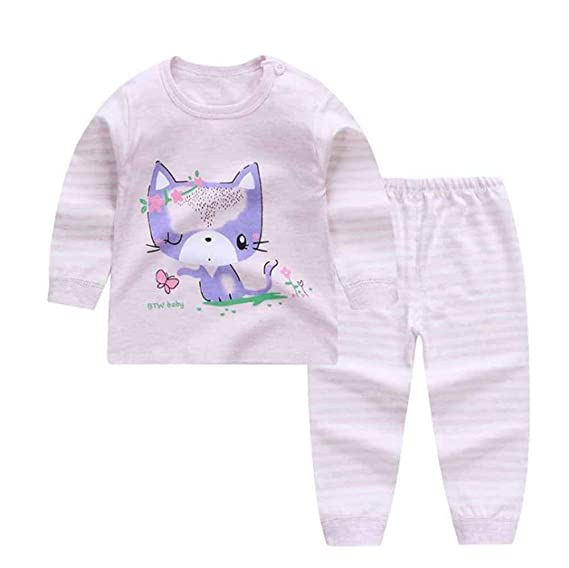 huateng Pijama Recién Nacido para Niño Y Niña Pijama Cálido De ...
