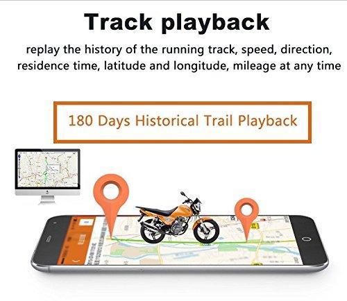 TKSTAR GPS Tracker tk905b GPS Tracker Auto 150/Tage Standby Lokalisierer GPS Erinnerungsfunktion f/ür Fahrzeug LKW Motorrad