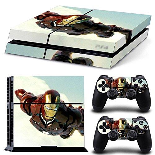 (GoldenDeal PS4 Console and DualShock 4 Controller Skin Set - SuperHero - PlayStation 4 Vinyl)