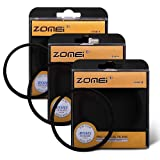 ZOMEi 72MM 4 Points Star Filter + 6 Points Star Filter + 8 Points Star Filter for canon nikon