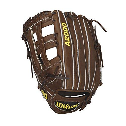 Wilson A2000 Outfield Baseball Glove, Dark Brown/Grey welting, Left Hand Throw, 12.75-Inch 12.75' Outfield Baseball Glove