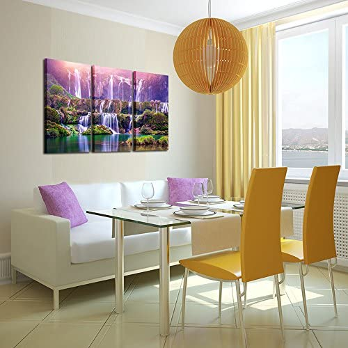 home, kitchen, wall art,  posters, prints 4 image Kreative Arts Large Size 3 Pieces Peaceful Dreamlike promotion