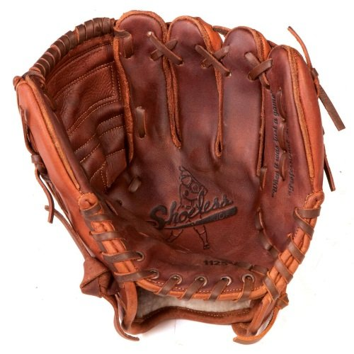 - Shoeless Joe Gloves Closed Web Brown Glove, 11 1/4-Inch, Right Handed