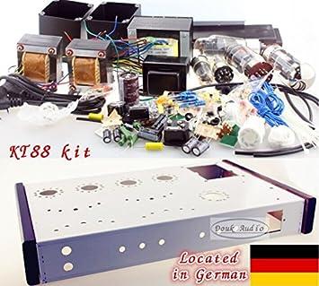 KT88 Klasse Una sola terminal Röhrenverstärker Bausatz amplificador de válvulas KIT DIY 16W * 2