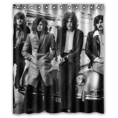 Led Zeppelin Shower Curtain 60x72 Inch