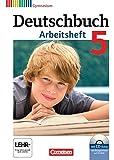 Deutschbuch Gymnasium - Allgemeine Ausgabe: 5. Schuljahr - Arbeitsheft mit Lösungen und Übungs-CD-ROM