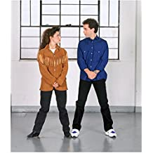 Jerry Seinfeld 8 Inch x 10 Inch photograph Seinfeld (TV Series 1989 - 1998) w/Julia Louis-Dreyfus Fringes Standing Side-by-Side kn