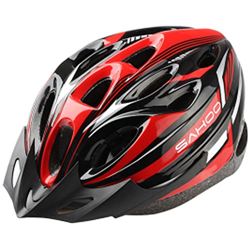 Meanhoo Roller skating/Mountain Helmet/Micro bicycle helmet protective Safty devices Helmet for Outdoor Sports Cycling Bikes skating - (Red and Black)