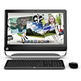 HP TouchSmart 520-1030 All-in-One Desktop (3.3 GHz Intel Core i3-2120 Processor, 4GB DDR3, 1TB HDD, Windows 7 Home Premium) Black (Discontinued by Manufacturer)