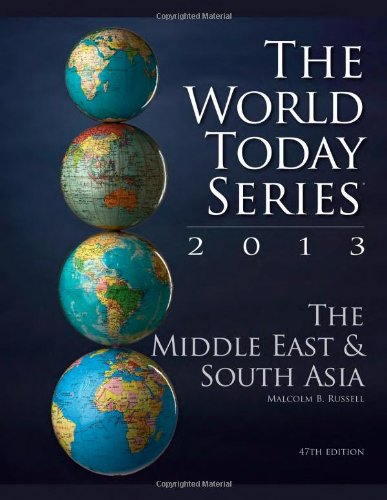 The Middle East and South Asia 2013 (World Today (Stryker))
