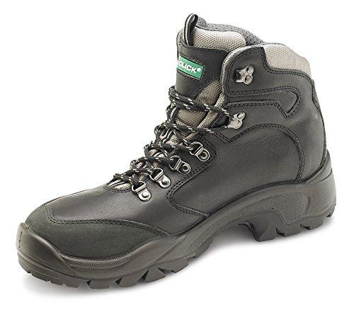 B-click scarpe B-click PU/in gomma S3 stivali di sicurezza Nero