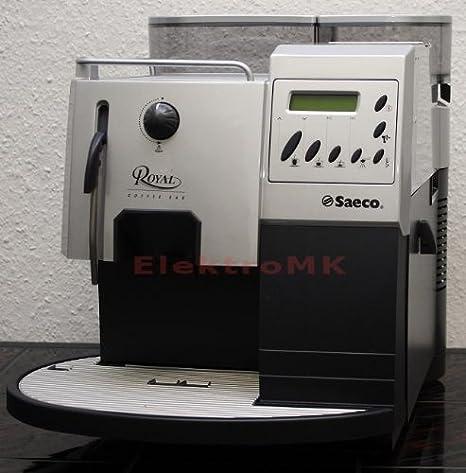 Saeco Royal Coffee Bar, LCD, Plata, 1250 W, 120 V, 60 Hz, Plástico, Acero inoxidable - Máquina de café: Amazon.es: Hogar