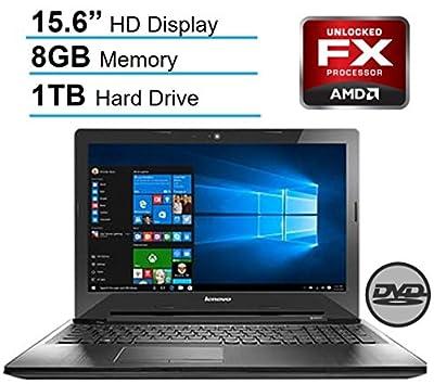 Lenovo 15.6'' HD LED Signature Laptop PC, AMD Quad-Core FX-7500 2.10 GHz CPU