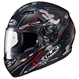 HJC Helmets CS-R3 Helmet - Songtan (MEDIUM) (BLACK/RED)