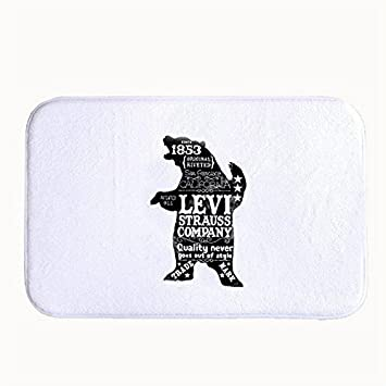 1f5ba03d44d067 Rikoel Levi Strauss Company Quality Never Goes Out Of Style Doormat ...