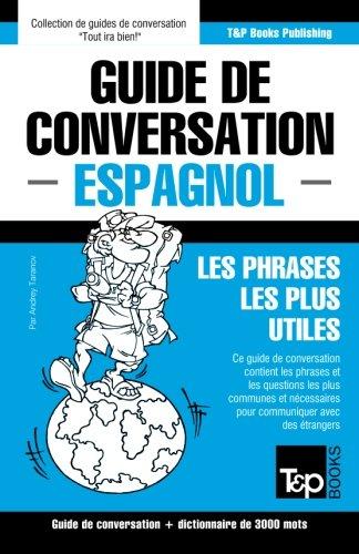 Guide de conversation Français-Espagnol et vocabulaire thématique de 3000 mots (French Edition)