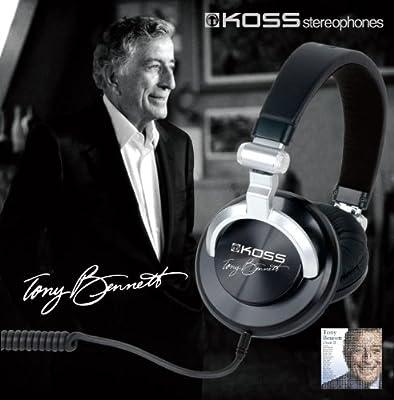 Tony Bennett Signature Edition Headphone - Black/Silver