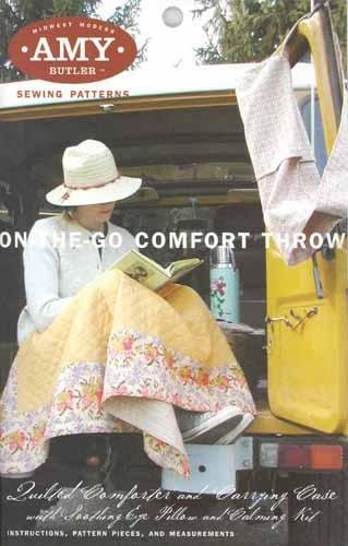 Amy Butler Patterns On-The-Go Comfort Throw By The Each
