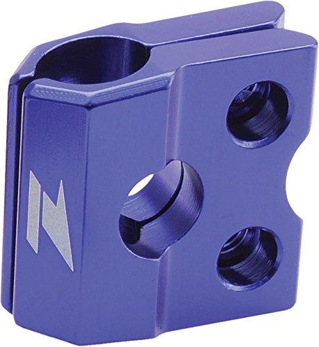 (Zeta Anodized Aluminum Blue Brake Line Clamp Kx Kxf 92-13, Rm Rmz Drz)