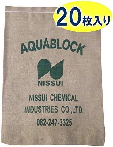 日水化学工業 土のう グレー 1枚当たり:約600×420mm(吸水前)