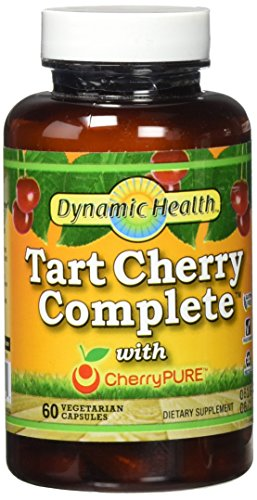 Dynamic Health Tart Cherry Complete with Cherry Pure, 60 (Health Cherry)