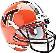 NCAA Virginia Tech Hokies Collectible Alt 4 Mini Helmet, Orange