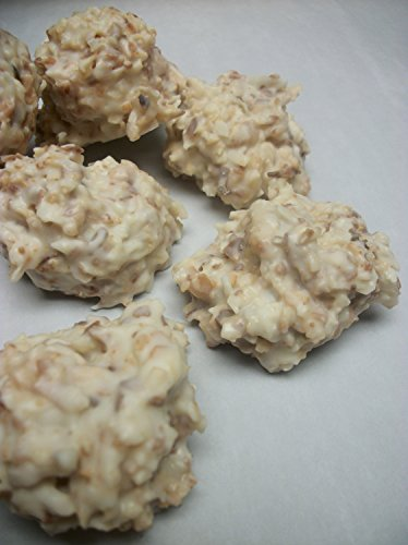 White Chocolate Haystacks Toasted Coconut Clusters 16 oz Hand MAde fresh to order