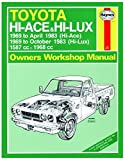 Toyota Hi-Ace & Hi-Lux Petrol (69 - Oct 83) Haynes Repair Manual (Haynes Service and Repair Manuals) by Anon (2013-08-12)