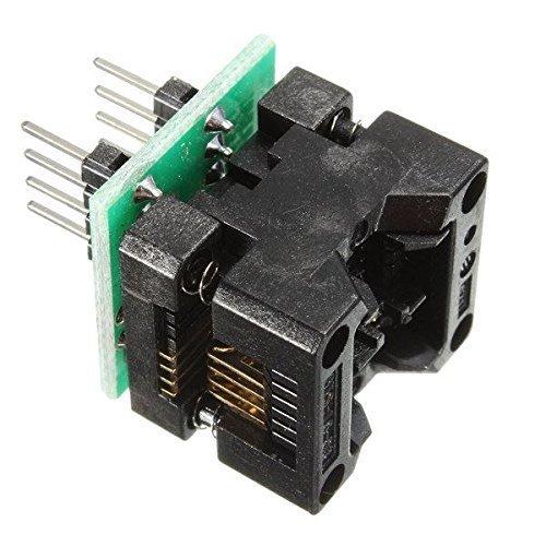 WINGONEER SOP8 to DIP8 IC socket Programmer adapter Socket OTS-16-03 for 24xx 93xx eeprom
