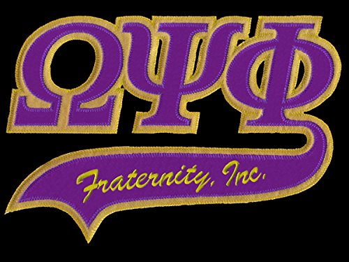 omega psi phi fraternity patches - 2