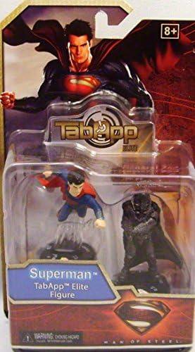 DC HeroClix: Man of Steel TabApp Elite 2-Pack Superman General Zod ...