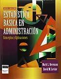 Estadistica Basica En Administracion (Spanish Edition)