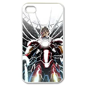 QNMLGB Iron Man3 Phone Case For Iphone 4/4s [Pattern-1]
