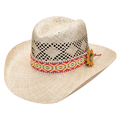 Charlie 1 Horse Heart Breaker Straw Hat In Red Natural