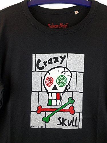 Crazy Skull Herren Longsleeve Stedman von Seban-Shirt