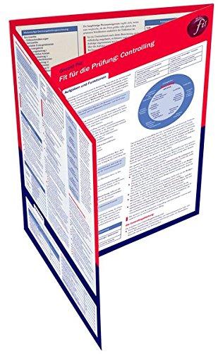 Fit für die Prüfung: Controlling: Lerntafel (UTB XL)