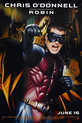 Jim Lee Art Batman (BATMAN FOREVER MOVIE POSTER 1 Sided ORIGINAL Advance 27x40 CHRIS O'CONNELL)