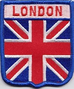 Amazon.com City Of London Union Jack Flag Embroidered Patch Badge Garden U0026 Outdoor