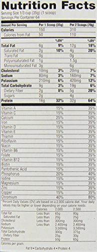 Muscle Milk Genuine Protein Powder, Vanilla Crème, 32g Protein, 4.94 Pound